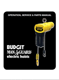 manuals forest park, illinois budgithoist norcold control board wiring  diagram budgit electric chain hoist wiring diagram